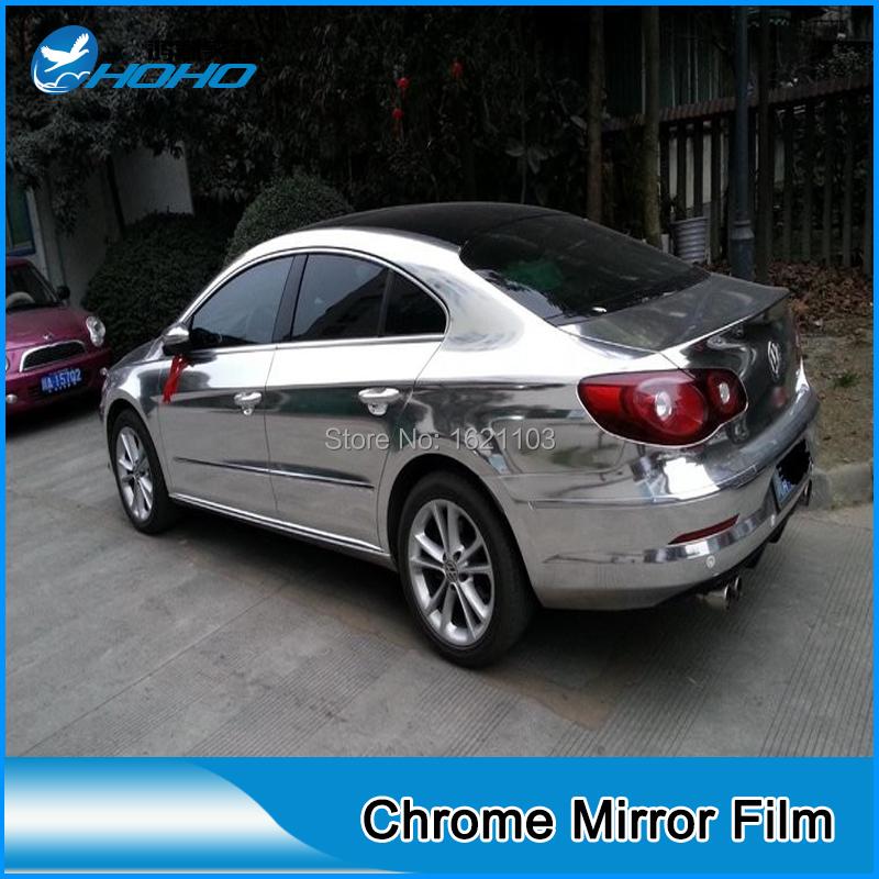 silver glossy Metallic Vinyl Wrap Film for Car Full Body(China (Mainland))