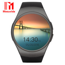 Buy Kingwear Original KW18 Bluetooth Smart Watch Full Screen Support SIM TF Card Smartwatch Phone Heart Rate for Apple S2 Huawei for $41.21 in AliExpress store