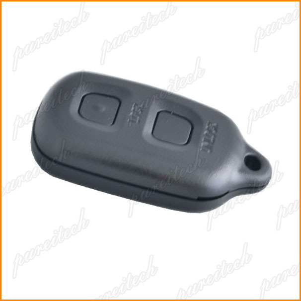 10pieces/lot plastic toyota car key remote case fobs custom no logo 2 buttons(China (Mainland))