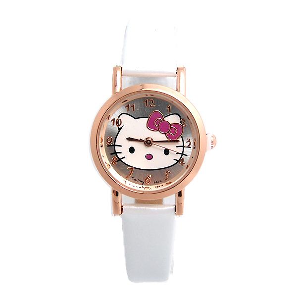 Gogoey Luxury Brand Lovely Hello Kitty Watch Children Women Fashion Dress Quartz Wristwatches Girls GO103 HAI(China (Mainland))