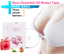 5 pack rose essential oil breast augmentation tape make the chest large tightness smooth beauty women enhancement product