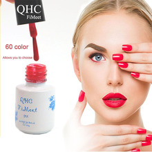 2016 Hot Sale QHC FiMeet Gel Nail Polish Long-Lasting Soak-off Nail Polish Gel Polish 6ml/Pcs 60 Colors Optional Free Shipping(China (Mainland))