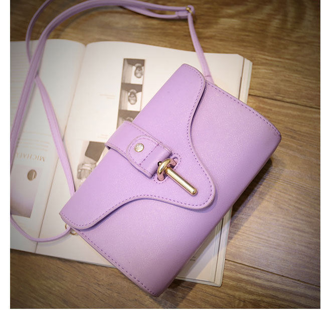 New Fashion Ladies Popular Macarons Colors Mini Messenger Bags Women PU Leather Crossbody Shoulder Bags<br><br>Aliexpress