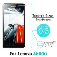 For Lenovo K3 A6000 5″ Explosion-proof 9H 0.3mm 2.5D Nanometer Tempered Glass screen protector with cleaning cloth