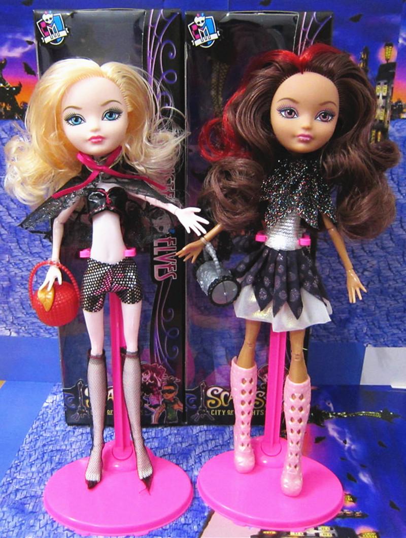 Original Monster Highs Doll, Genuine Dolls, Fashion Girl Toy Baby Dolls, Monster Hight Toys(China (Mainland))