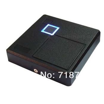 Black Waterproof Security Door ID Wiegand 26 RFID 125KHz Card Reader 50pcs/lot