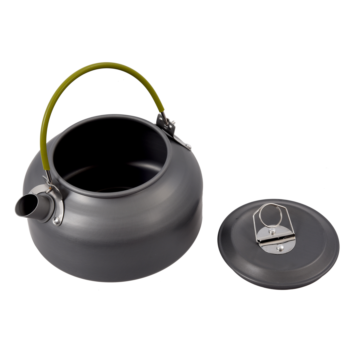 IMC Wholesale 0.8L Portable Ultra-light Outdoor Hiking Camping Survival Water Kettle Teapot Coffee Pot Anodised Aluminum(China (Mainland))