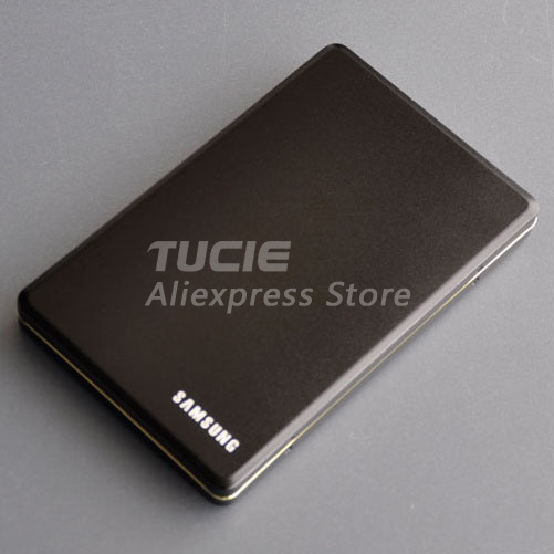 2.5 inch IDE USB2.0 Slim HDD box external enclosure Good price Aluminum hdd case retail and wholesale Support 1TB Drive(China (Mainland))