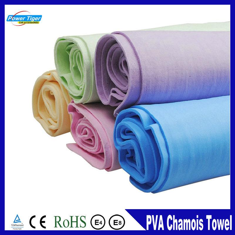 High Quality 5pcs/lot Big Size 66*43cm Shammy Wash Towel PVA Chamois Towel Car Wash/Cleaning Towel(China (Mainland))