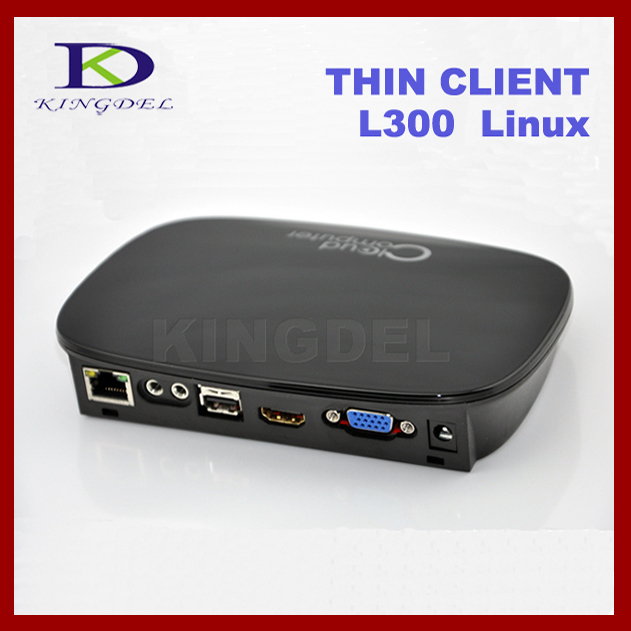 Mini PC Station FL300W Computer Sharing Thin Client Dual Core 1GHz 512MB RAM Linux 2.6 USB2.0*3 1080P HDMI RDP 7.1 VGA WiFi