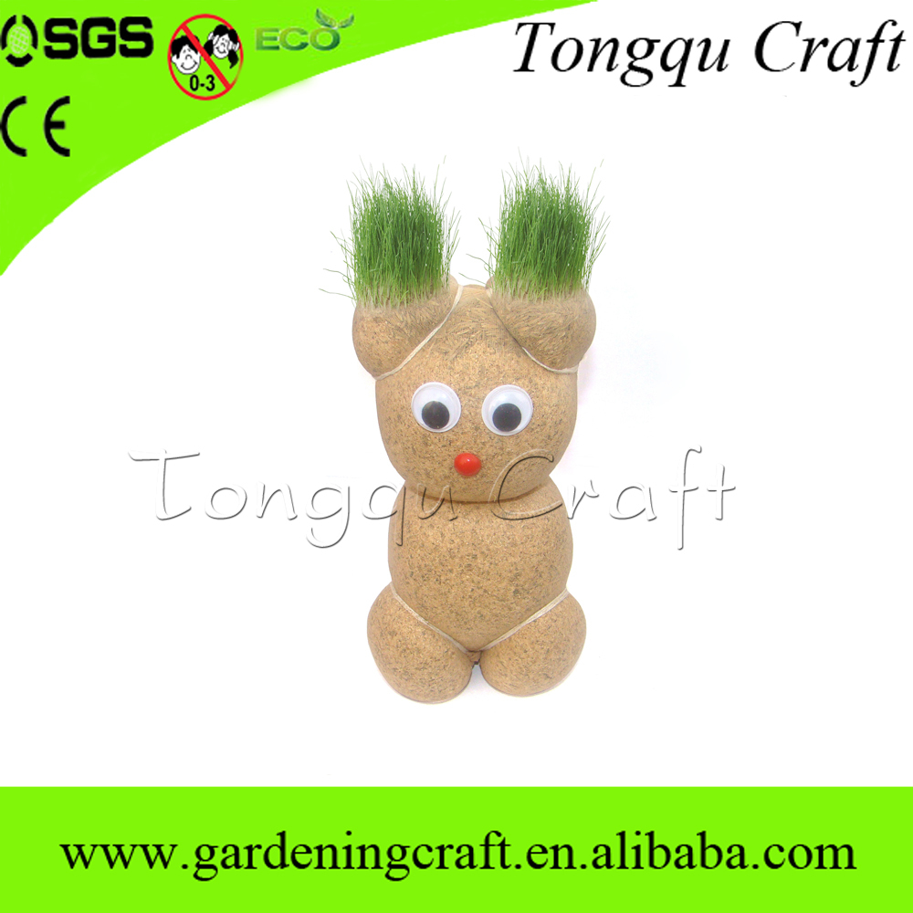 Sample TQ-6021 China Grass Head Factory Price Unique Grass Dolls For Any Occasion(China (Mainland))