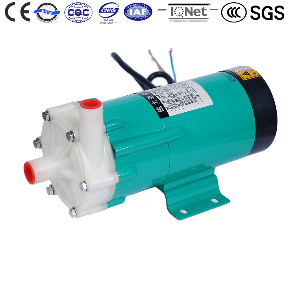 Фотография Centrifugal Magnetic Drive Water Pump MP-20RZM 50HZ 220V Brewery pumps liquid Exchange Cycle Filter Cooling Metal Industry