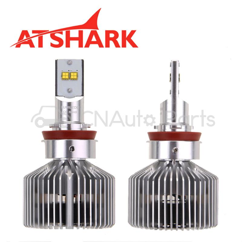 Фотография Atshark 90W 9000LM H8 H9 H11 LED Headlight / Headlamp Conversion Kit