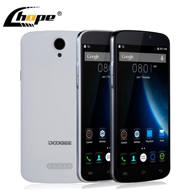 """Оригинал Doogee X6 5.5 """" HD 1280 X 720 X 5 обновленная версия MTK6580 четырехъядерных процессоров 8.0MP 1 ГБ оперативной памяти 8 ГБ ROM андроид 5.1 мобильный телефон две SIM карты 3000 мАч"""