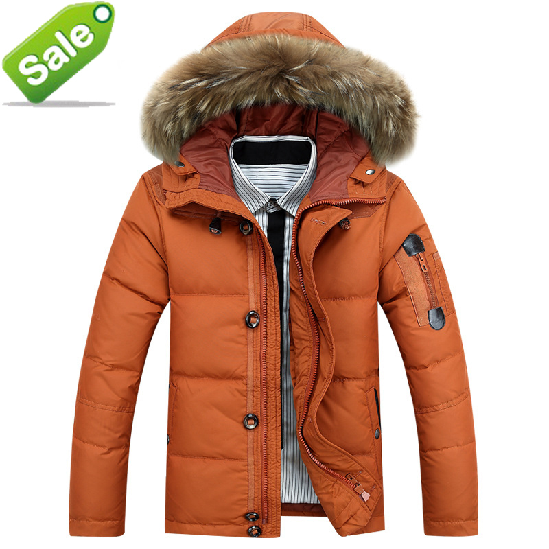 Vestes d'hiver hommes 2015 canada duvet de canard veste hommes marque parka hommes chaud casacos hommes extérieur manteau jaqueta masculina inverno(China (Mainland))