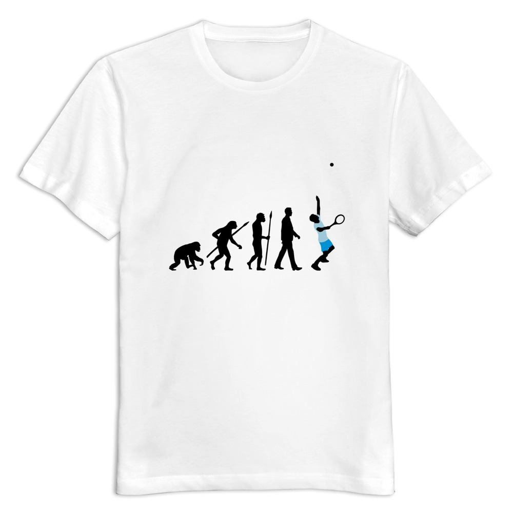 O-Neck evolution tennis spieler 102012 a 3c Men's tshirt Top Designer Hot Topic man's tees shirt(China (Mainland))