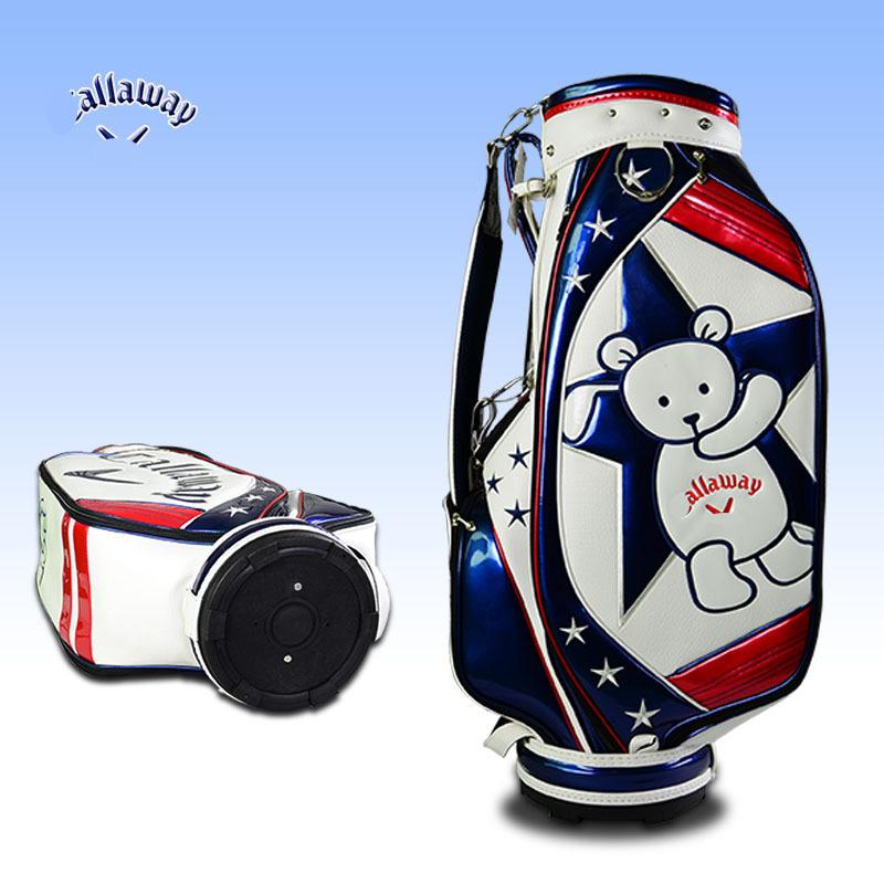 2015 new design cartoon PU waterproof golf bag golf cart bag golf staff bags(China (Mainland))