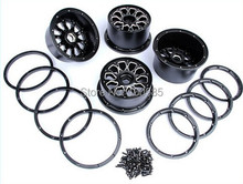 Baja 5T Alloy Wheel Hub Front & Rear 4pcs - 1/5 scale HPI KM baja 5t use - 850651(China (Mainland))