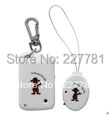P357 ANTI-LOST Security Reminder Alarm Kid Pet Bag Electronic Key finder Baby Kid Pet Locator White(China (Mainland))