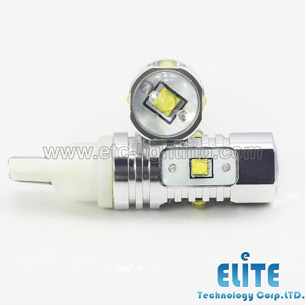 921 T15 T10 CREE 25 W de Luz LED Trasera, luz de marcha atrás Para Nissan Altima, Murano, Subaru Forester, Outback, Toyota Camry, Corolla(China (Mainland))