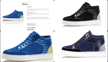 Netherlands brand Latest Fashion casual High Top men Sneakers women rivet shoes Genuine Leather EU 35