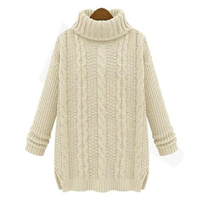 Womens Plus Size Cashmere Sweater 117