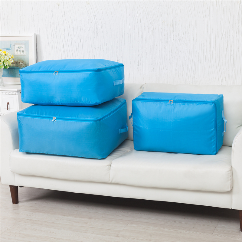 Foldable Storage Bag Clothes Blanket Pillow Quilt Clothes Sweater Box Pouch Organizer Foldable Storage Bag(China (Mainland))