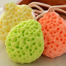 Buy New Baby Kids Bath Brushes Bath Sponge Massage Baby Shower Exfoliating Body Cleaning Scrubber Q2 for $2.38 in AliExpress store