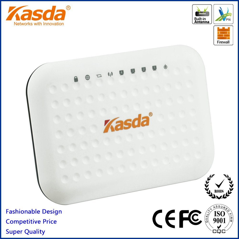 Kasda 300M 11n WiFi Ethernet Router KW55293US with 4 LAN Ports Wireless AP Integrated(China (Mainland))