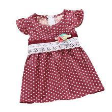girls dress New dot print Baby Bohemian Beach dresses sleeveless Children's clothing kids vestidos(China (Mainland))