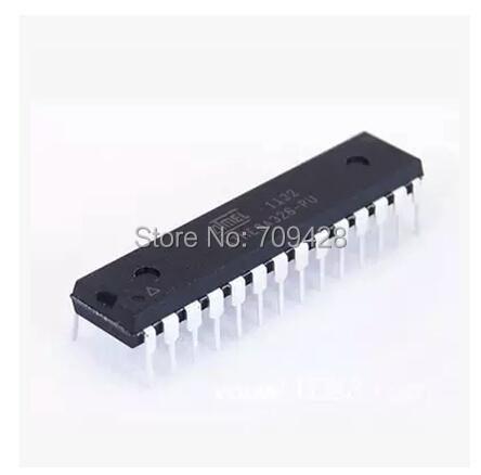2 ATMEGA328P-PU CHIP ATMEGA328 Microcontroller MCU AVR 32K 20MHz FLASH DIP-28 - ONE-STOP ELECTRONICS store
