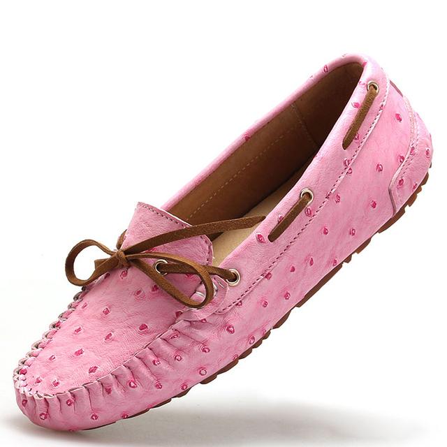 Горячая распродажа обуви женщин туфли-квартиры женские мокасины натуральная кожа плоские ботинки женщин балетки женщины бездельник