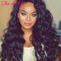 Wholesale Silk Top Lace Front wig 8A grade 150 density Glueless Full Lace Brazilian Wavy wigs