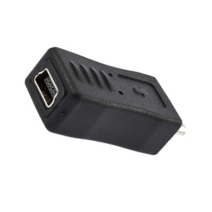 Гаджет  Universal Mini USB Female to Micro USB Male Connector AdapterHot New Arrival None Электротехническое оборудование и материалы