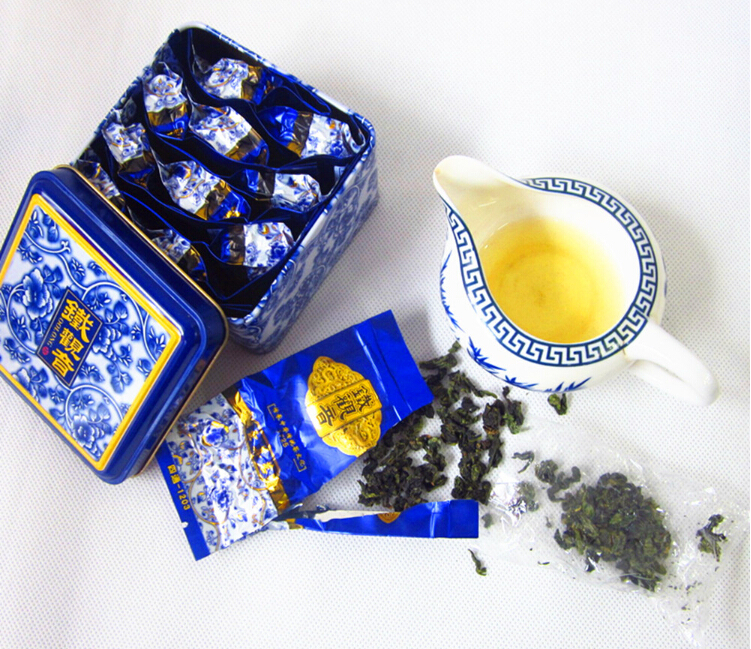 150g 10 packs Superior Healthy Chinese TiKuanYin Green Tea, Weight Loss Anxi TieGuanYin Oolong Food Gift Packages - Love Pretty Fashion store