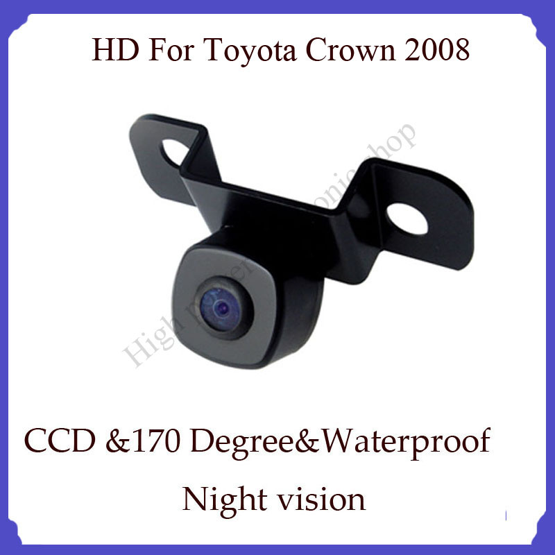 wireless Back rearview camera for Toyota Crown 2008 rear back camera Wireless CCD(China (Mainland))