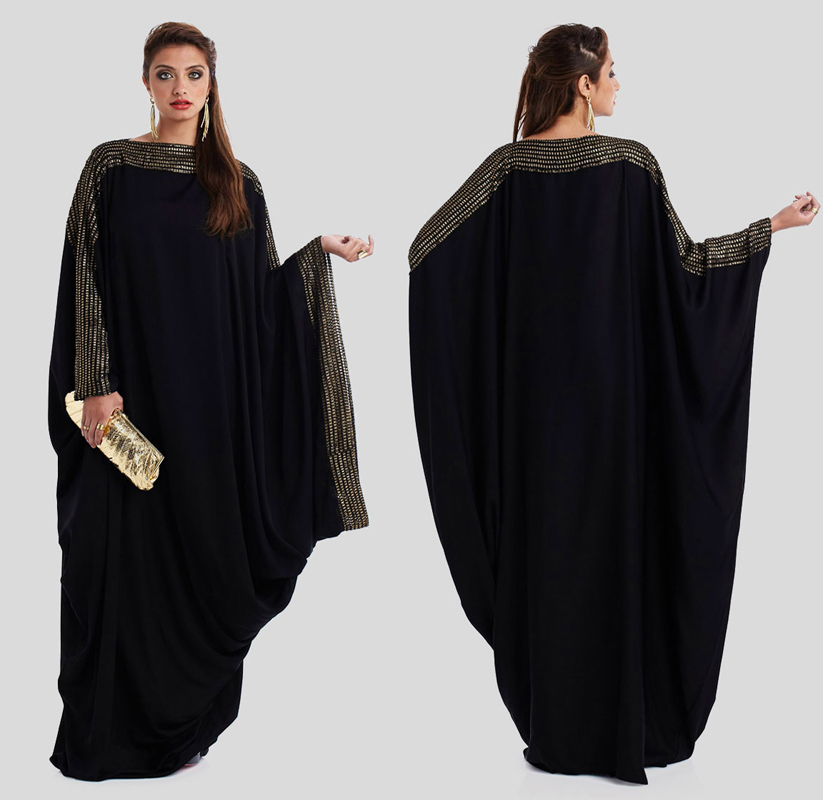 Wonderful Dubai Fancy Islamic Dress For Women Evening Dress 2017 Muslim Dark