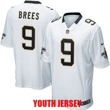 100% Stitiched New Orleans Saint Kenny Vaccaro Drew Brees Brandin Cooks Marques Colston For YOUTH KIDS(China (Mainland))
