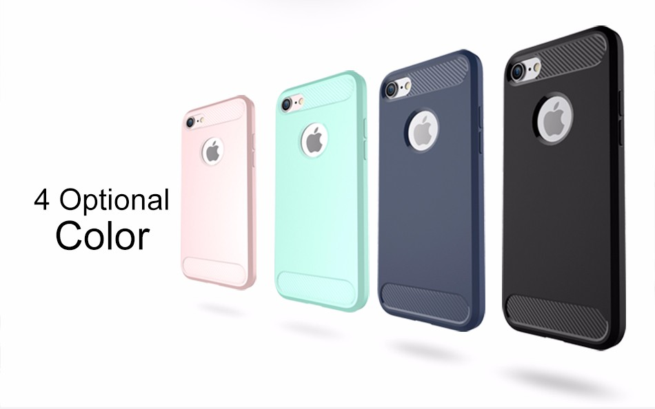 Case For iPhone 7 Plus Cover USAMS TPU Back Cover 360 Anti-knock shockproof Conque For iphone 7 plus