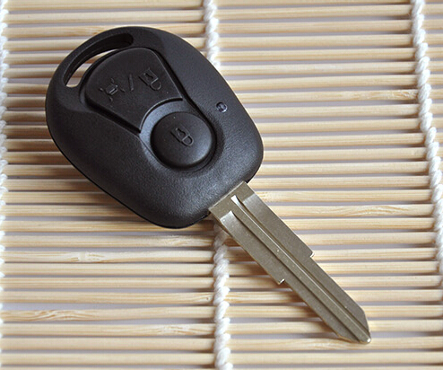 free shipping High quality Remote car Key Shell key case Key cover 3 Button For Ssang Yong(China (Mainland))