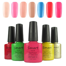 Choose 1pc Smart  Soak Off UV LED Gel Polish and Salon Gel Lacquer For Nail Gel Total 79 Fashion Colors