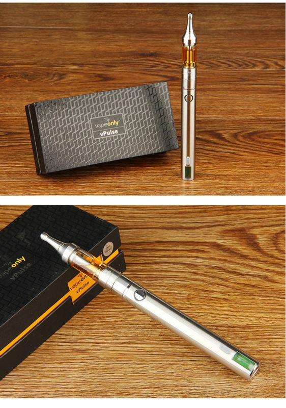 ถูก VapeOnly vPulseแบบDual-เอาท์พุทชุดมี900มิลลิแอมป์ชั่วโมงในตัวแบตเตอรี่และ2มิลลิลิตรvAir D16ชัดเจนCartomizerบุหรี่อิเล็กทรอนิกส์เต็มชุด