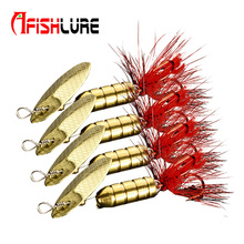 Buy 4pcs/boxes fishing jig spoon lures 3.5g/7g/9g metal hard bait spinner bait bronze metal spoon lure spinner bait metal jig pesca Fishing Tackle Store) for $4.25 in AliExpress store