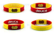 2pcs new brand 100% top quality silicone bangle  With the KYRIE IRVING style energy bracelet power wristband balance lanyard(China (Mainland))