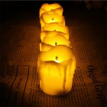 Set of 12 Ultra bright decorative candles,Led bougie mariage,Flameless bougies decorative mariage For Wedding(China (Mainland))