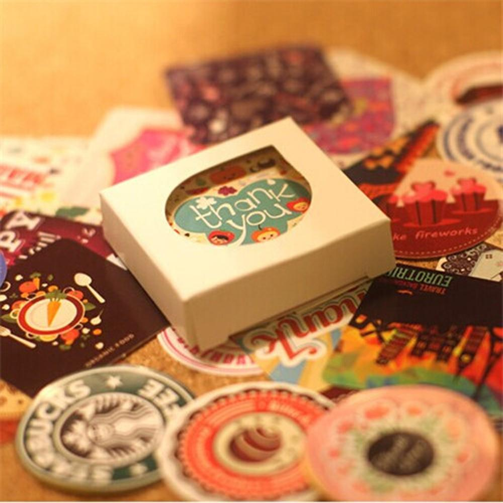 38 pcs/set Creative Vintage Themes Retro Collection Stickers Adhesive Stickers DIY Decoration Stickers FOD car stickers