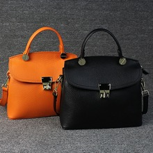 vintage luxury briefcase tote  women designer shoulder office bags valentine clutch casual high quality Genuine leather handbags