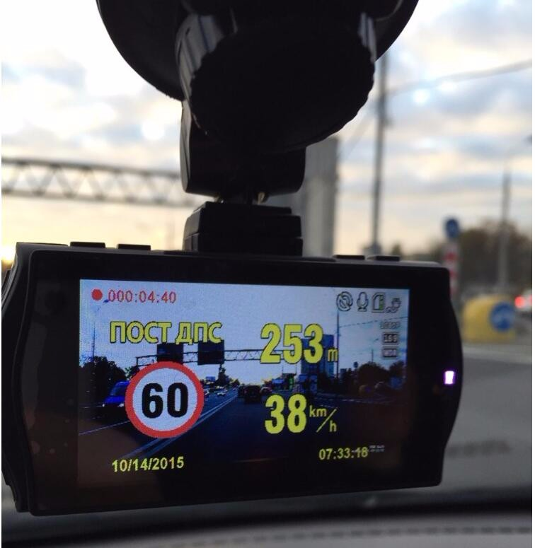 Vehicle New Mini Car parking security DVR Camera Ambarella A7 Video Recorder Full HD 1296P video Recorder Dashcam car Black Box