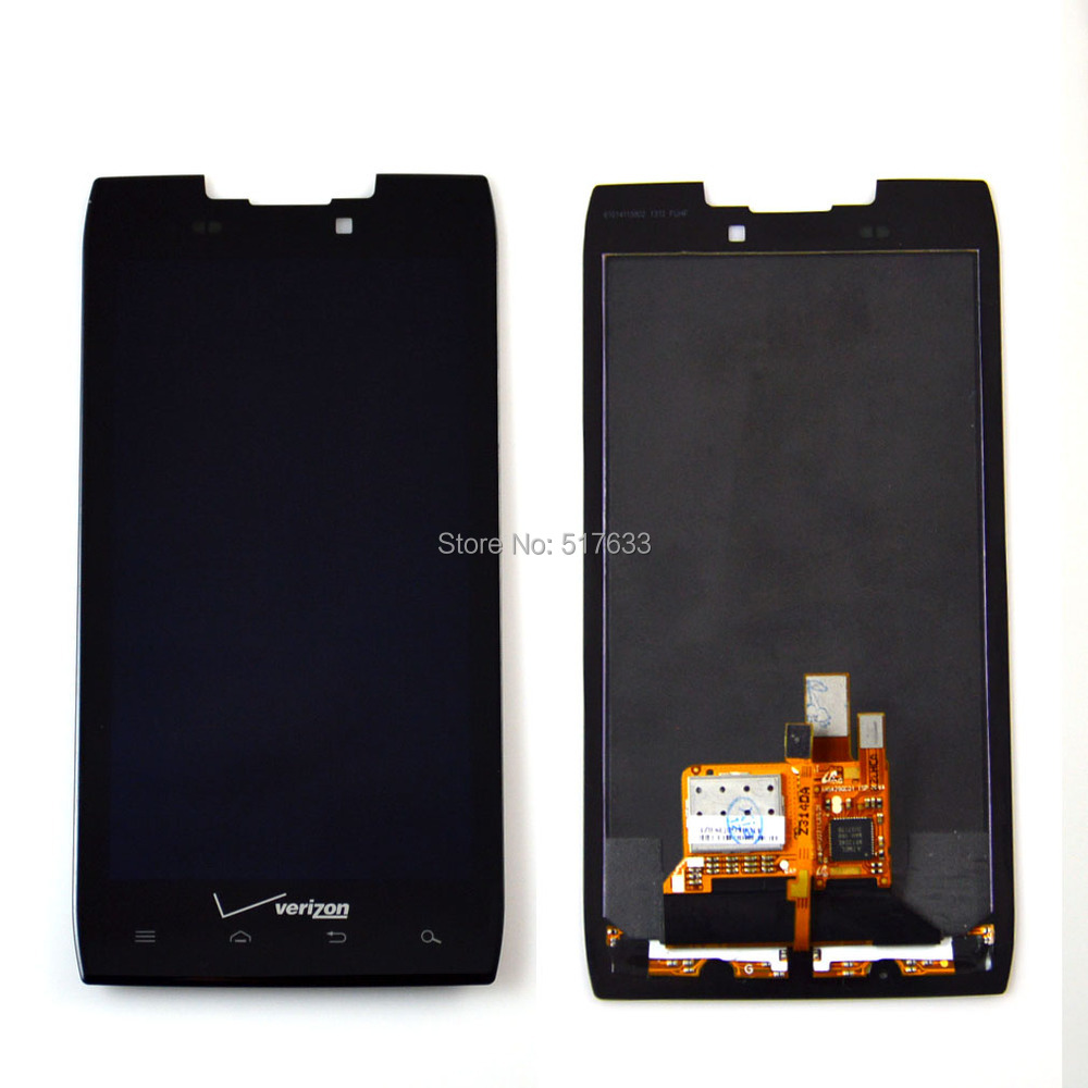 For Verizon Motorola Droid Razr XT912 New LCD Display Digitizer Touch Screen Assembly free shipping+track code