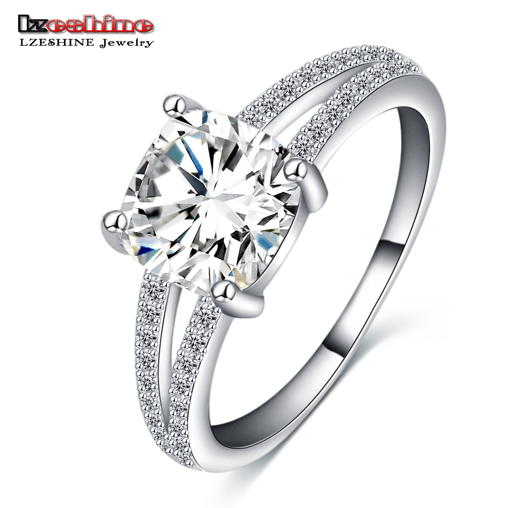 LZESHINE Fashion New Knuckle Engagement Rings for Women Platinum Plate Micro AAA Cubic Zirconia Wedding Bride Jewelry CRI0261-B(China (Mainland))